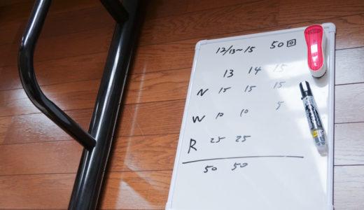 筋トレは懸垂だけでいい? 30日チャレンジ−4(16日目)